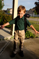 Henry's 1st Day of School